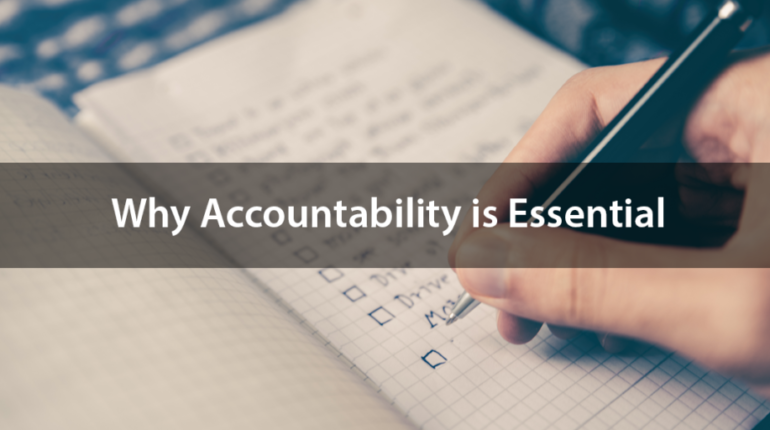 Why Accountability is Essential