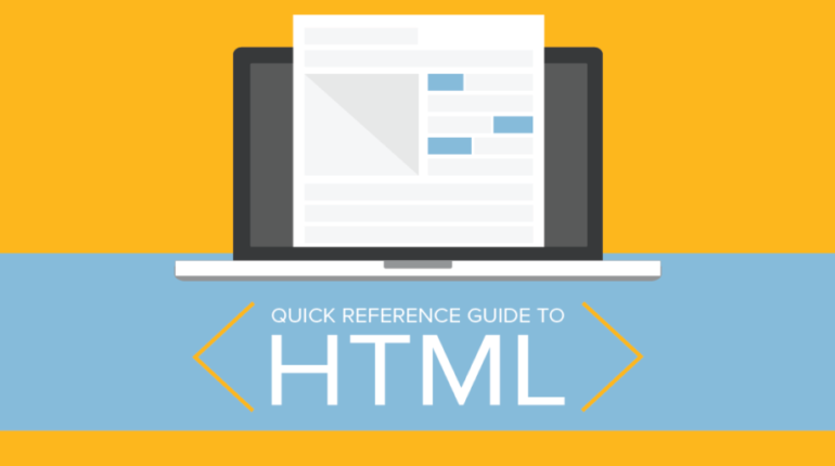Quick Reference Guide to HTML